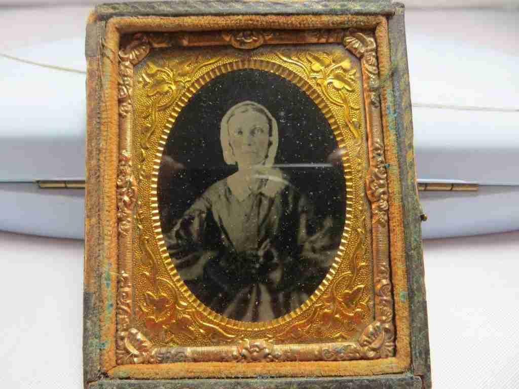 antique ambrotype photo