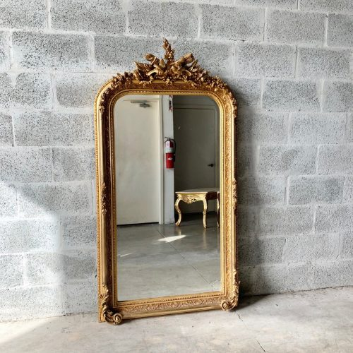 Antique French Baroque Mirror
