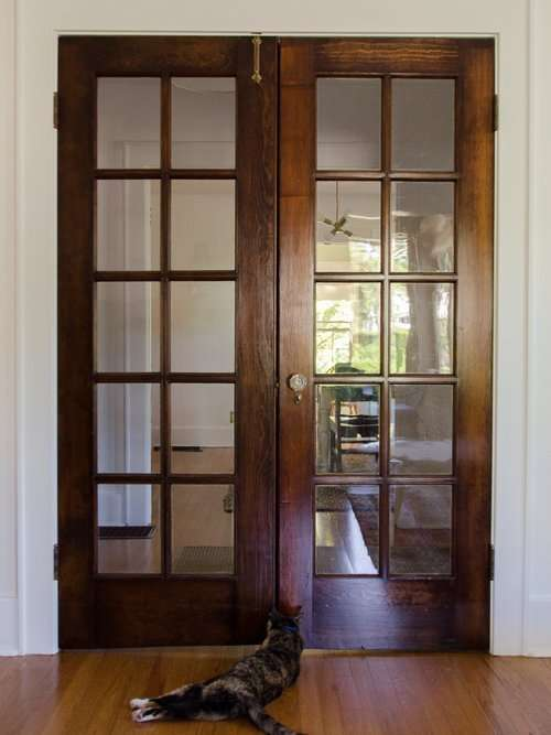 stripping wood doors after