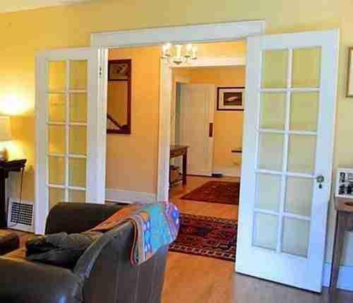 stripping wood doors before