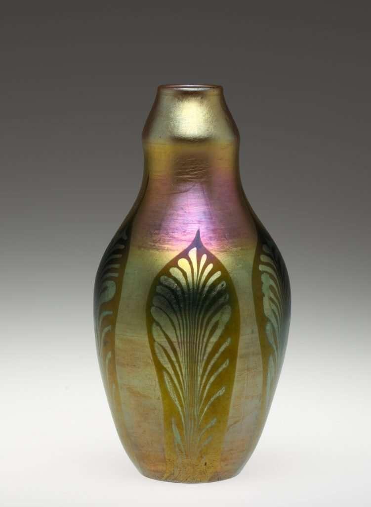 Art Nouveau Louis Comfort Tiffany Vase