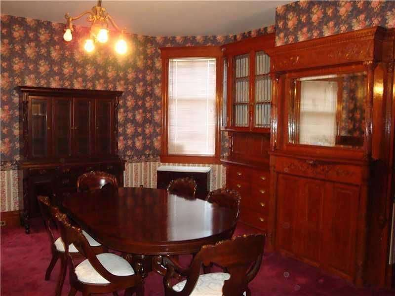 antique victorian dining room