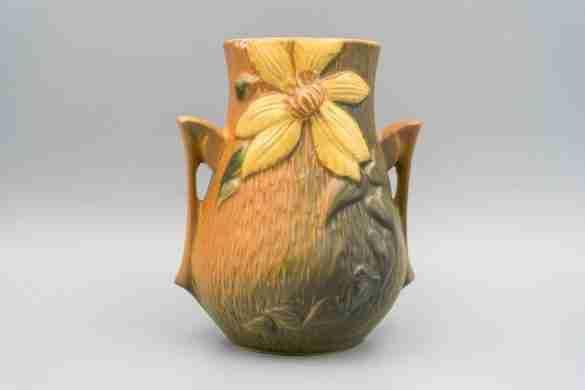 Roseville Pottery Clematis Vase