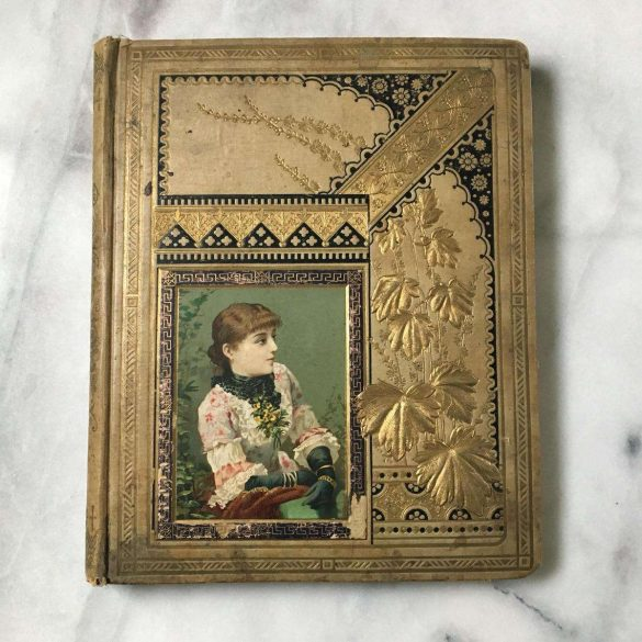 Antique Victorian Scrapbook