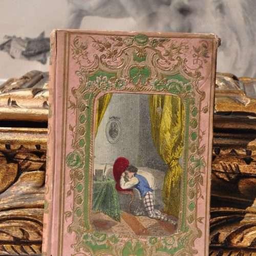 Antique French 1800s Rare Mame Editor Book