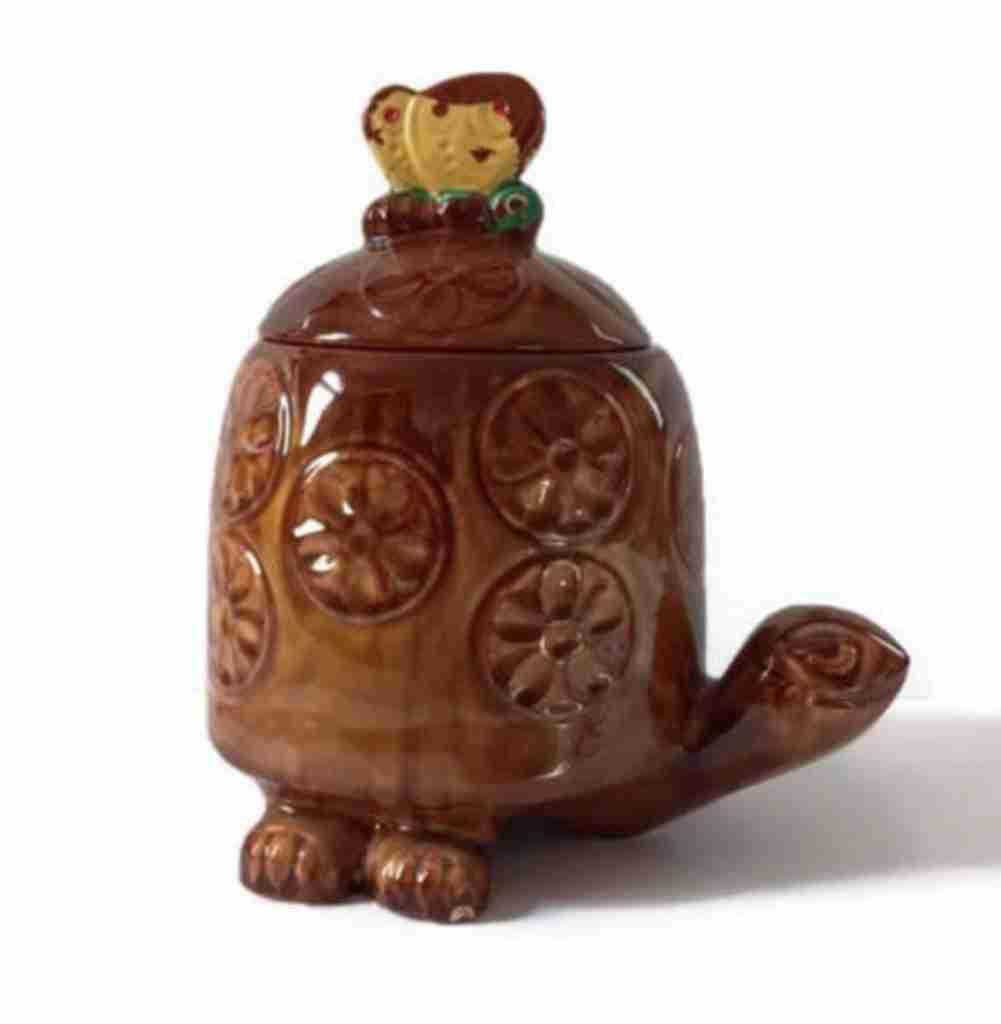 mccoy turtle cookie jar