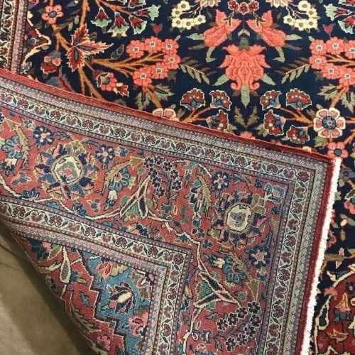 """Exquisite Handmade Antique Museum Piece """"Tree of Life"""" Design Oriental Rug"""
