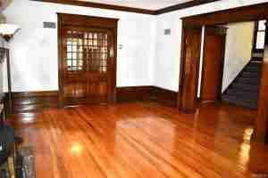 old refinished hardwood floors