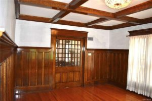 old house woodwork and ceiling