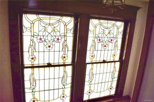 antique stained glass windows